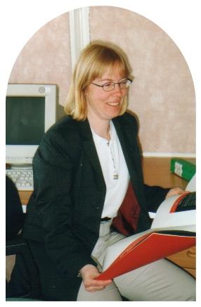 Catti på sitt arbete 1999
