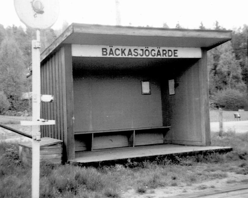 att resa med järnväg i Blekinge var möjligt